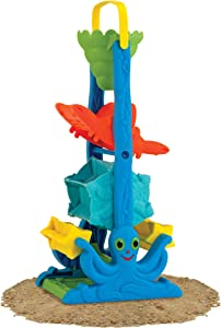 Melissa & Doug Seaside Sidekicks Sand-and-Water Sifting Funnel, Great Gift for Girls and Boys – Best for 2, 3, and 4 Year Olds