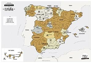 Edigol 6101.0 - Mapa mural: EDIGOL: Amazon.es: Oficina y papelería