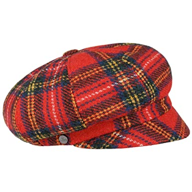Lierys Gorra Newsboy Cuadros Escoceses Mujer/Hombre - Made in ...