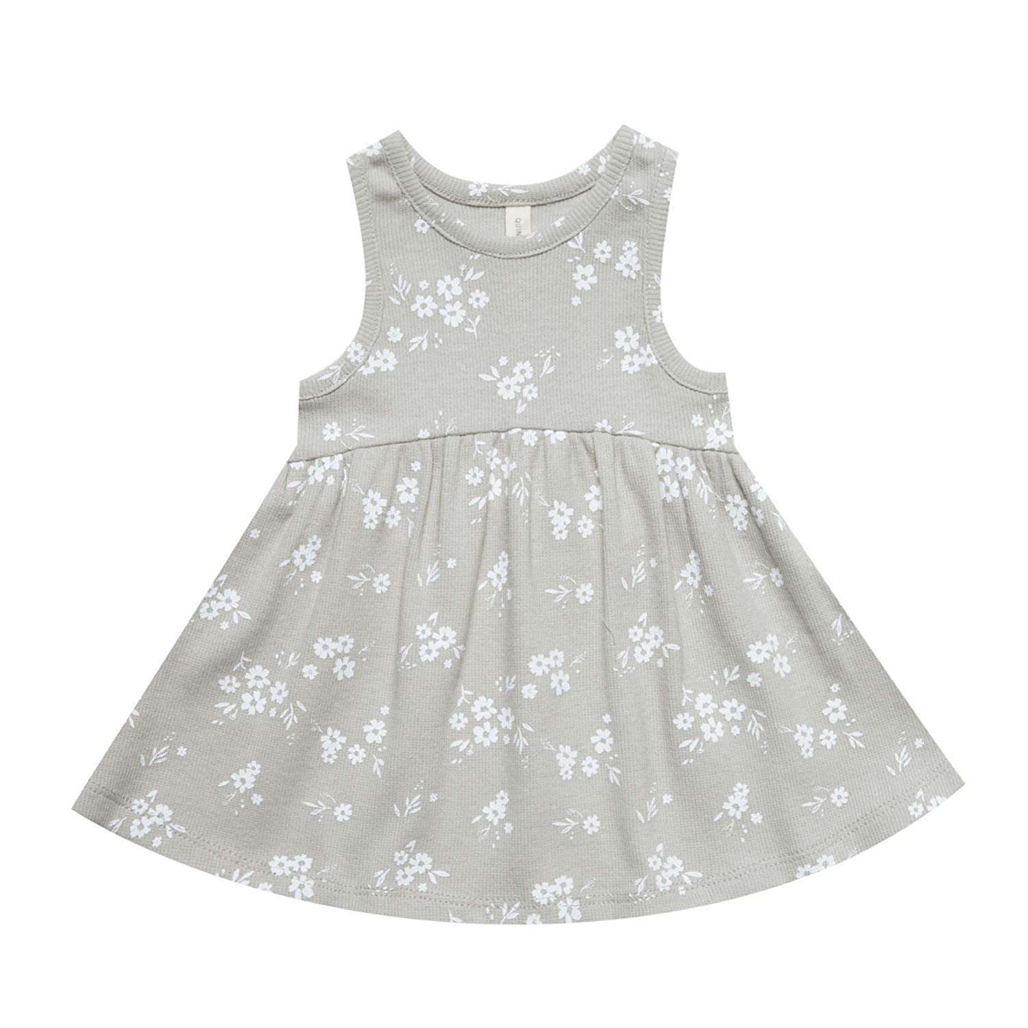 QUINCY MAE ASH 3-6 Months Ribbed Tank Dress