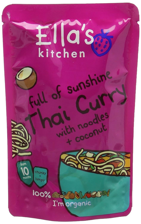 Ella's Kitchen Stage 3 From 10 Months Organic Thai Curry 190 g (Pack of 7) Ella' s Kitchen EK119