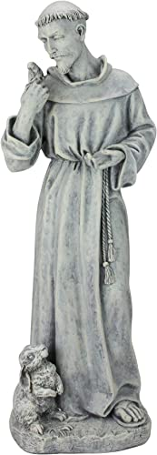 Roman 24″ Joseph's Studio St. Francis of Assisi Religious Outdoor Garden Statue