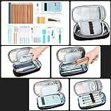 Pen Case, Homecube Big Capacity Pencil Bag Makeup