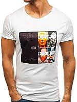 BOLF shirt à manches courtes – J. STYLE S093 – Homme – M Gris [3C3] R6IzIWu39