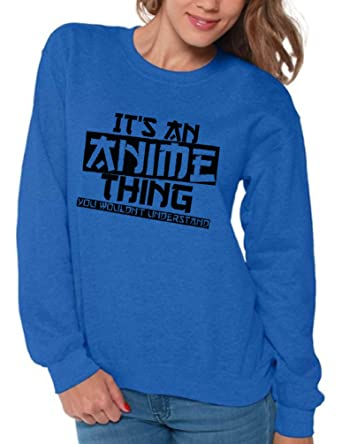amazon com awkward styles women s it s an anime thing you wouldn t