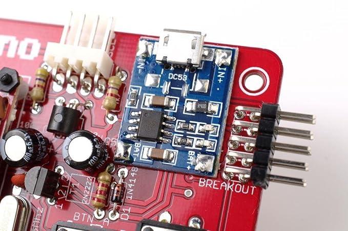 MAKERbuino Kit para Hacer tu Propia Consola de Videojuegos, Sistema DIY: Amazon.es: Juguetes y juegos