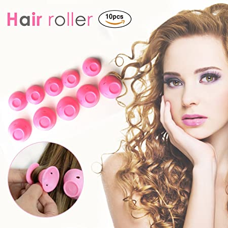 Jall Hair Curlers Hair Rollers Curly Hair Curlers Men Natural Long