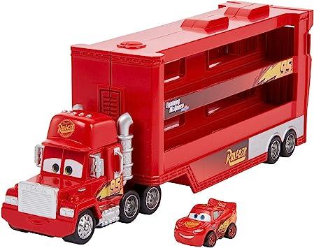 Oferta amazon: Disney Cars Pixar Camión de Mack para minicoches de Carreras de Cars (Mattel GNW34)