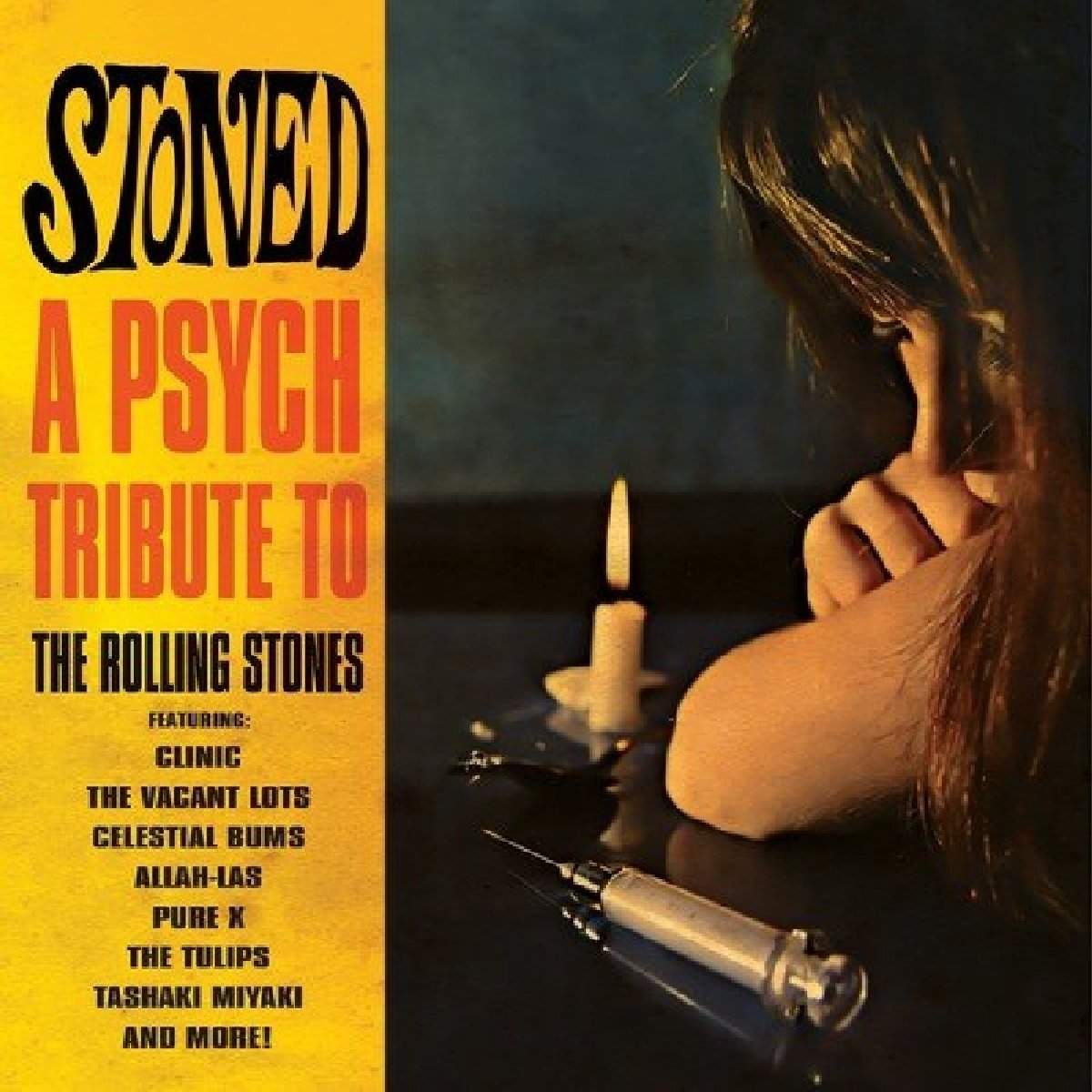 Stoned - a Psych Tribute to the Rolling Stones - Stoned - A Psych Tribute To The Rolling Stones / Various (LP Vinyl)