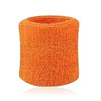 NoyoKere Wristband Athletic Cotton Cloth Wristband Basketball Strap Tennis Badminton Wrist Support pour Sport Rose