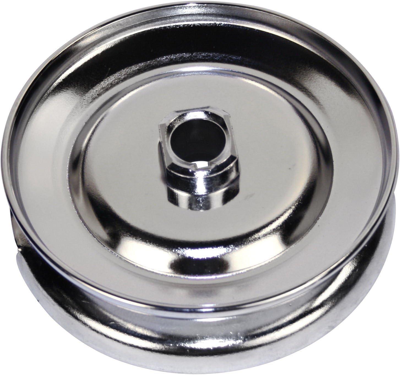 Empi 00-9119-0 Chrome Alternator//Generator Nut /& Spacer 2-Piece Set For VW Type