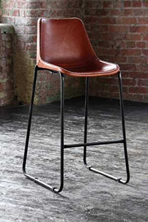 Road House Tan Leather Bar Stool & Road House Tan Leather Bar Stool: Amazon.co.uk: Office Products islam-shia.org