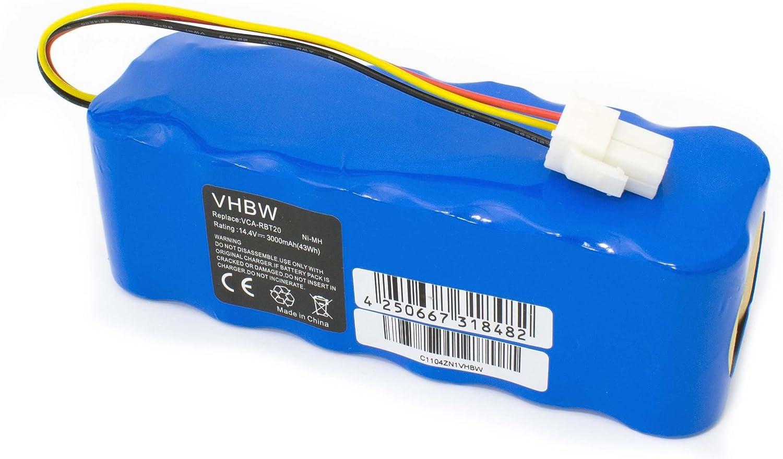 Batería Ni-MH 3000mAh (14.4V) compatible con aspiradoras Samsung ...