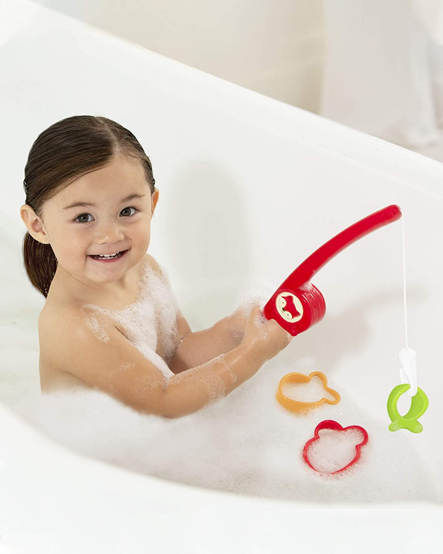 Skip Hop Fishing Fox Baby Bath Toy