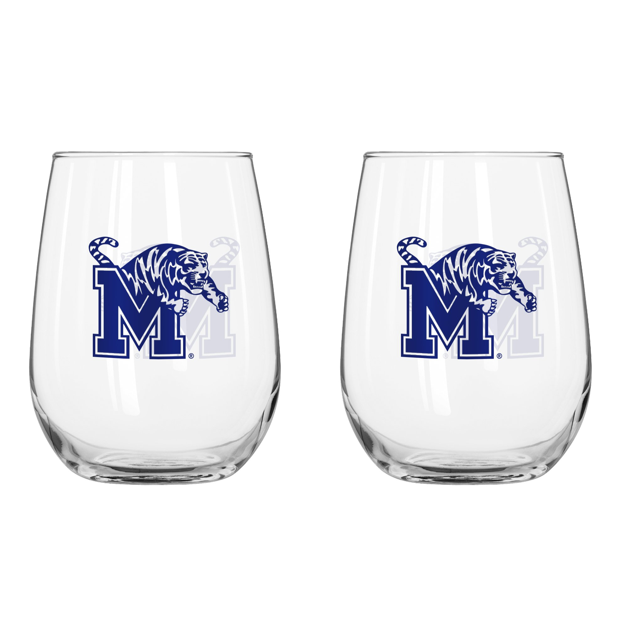NCAA Memphis Tigers Curved Beverage