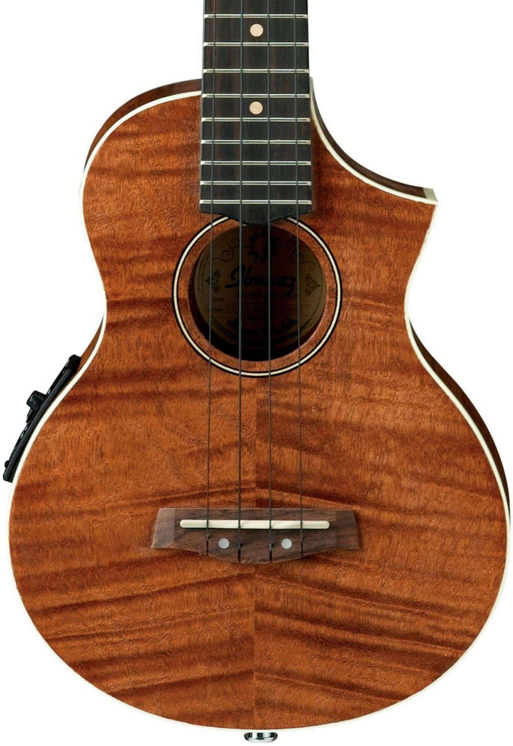 Ibanez, 4-String Ukulele, Right Handed, Open Pore Natural (UEW15E)