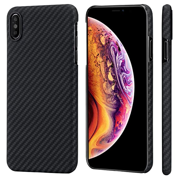 783c8d28734 Amazon.com  PITAKA Slim Case Compatible with iPhone Xs Max 6.5 ...