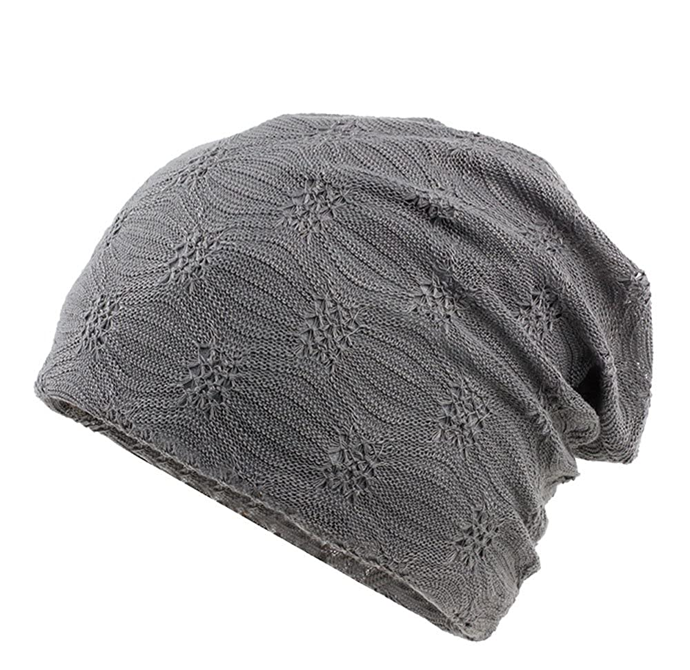 Women Beanie Cap Cancer Headwear, Chemo Beanies Skullies Hollow Hats