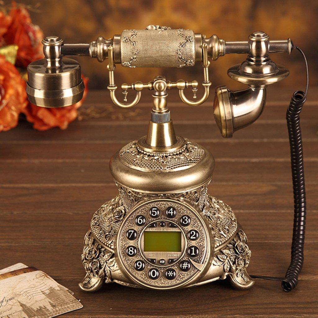 De style européen Antique Bois Retro Fashion Creative Téléphone 109
