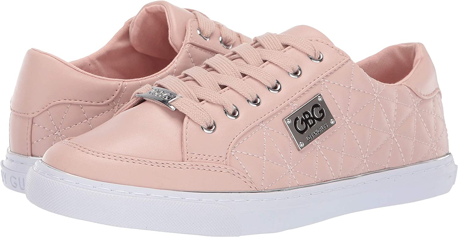 660ea970c3dd2 G by GUESS Women's Omerica Quilted Faux-Leather Logo Plaque Sneakers