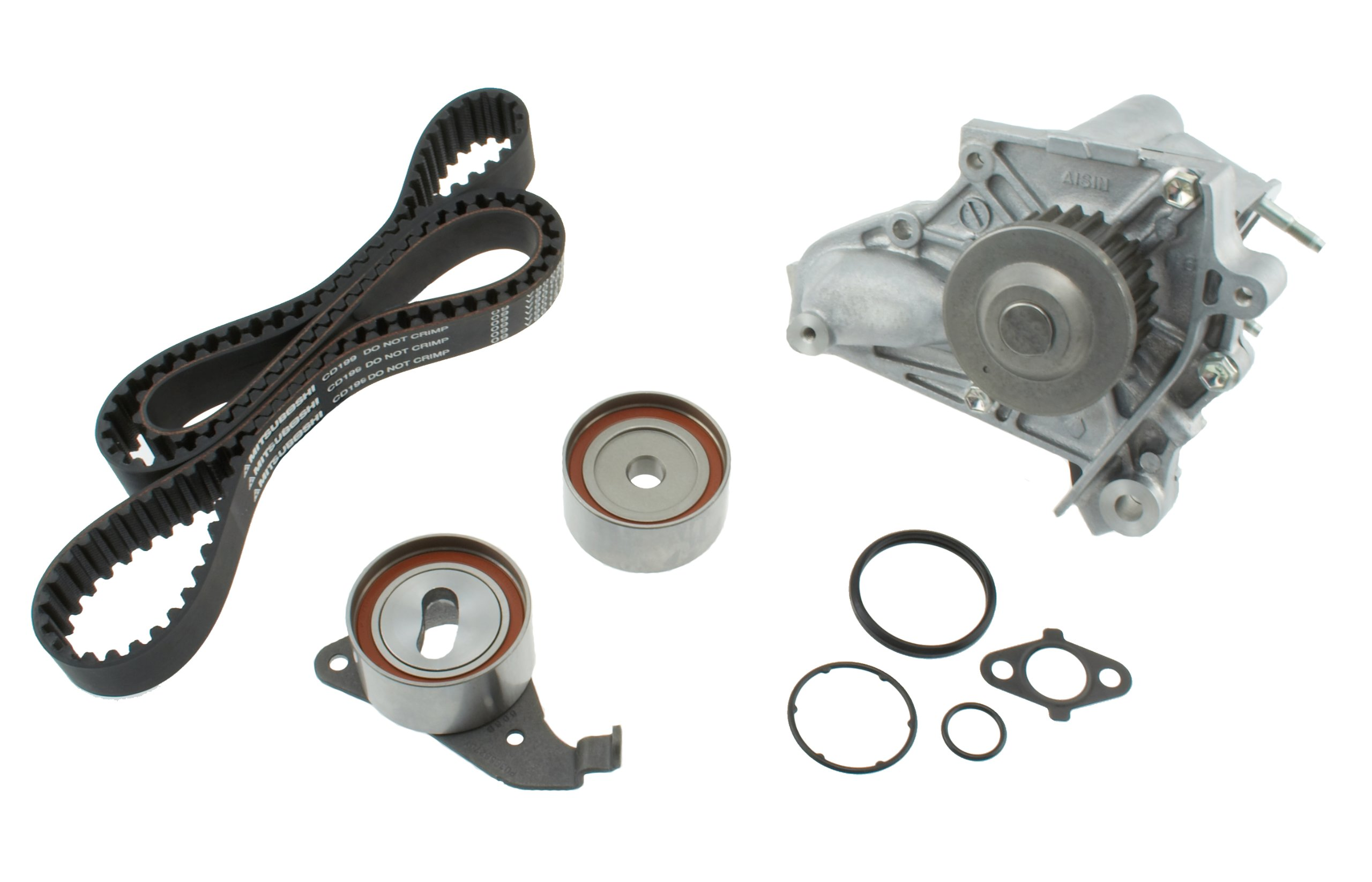 Aisin Tkt 002 Engine Timing Belt Kit With Water Pump 05 Mazda 6 Automotive