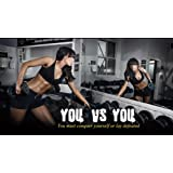 "Bodybuilding Fitness Motivation Motivational Fabric Cloth Rolled Wall Poster Print -- Size: (24"" x 13"")"