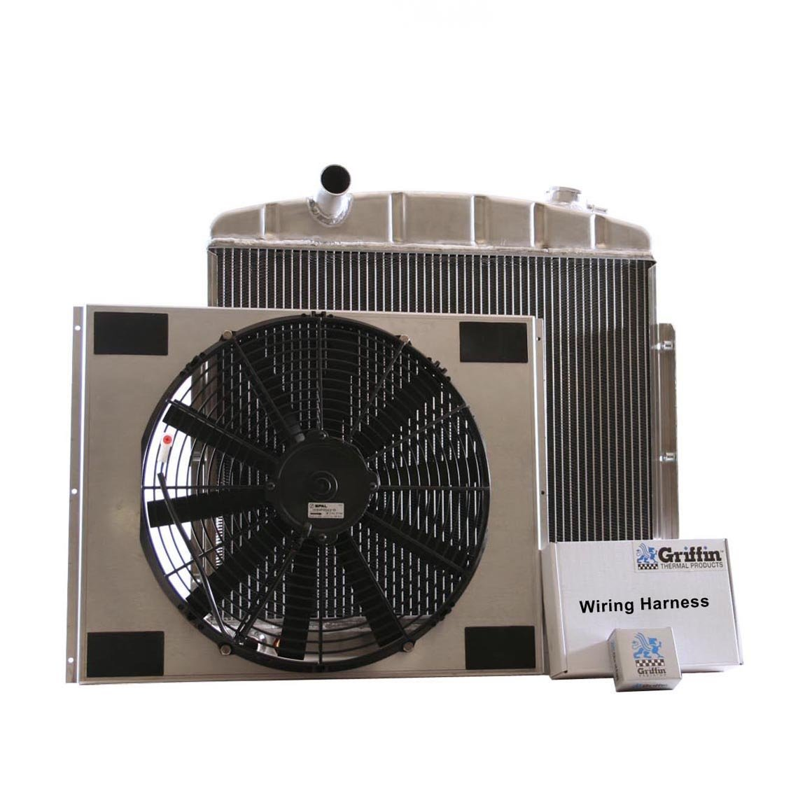 Griffin Radiator CU-70065 ComboUnit Radiator and Electric Fan Kit