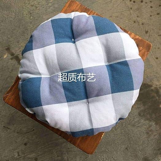 Round Bar Stool Cover,Super Soft Stool Cushion Elastic Chair Cushion Machine Washable 1 Seat Cushion