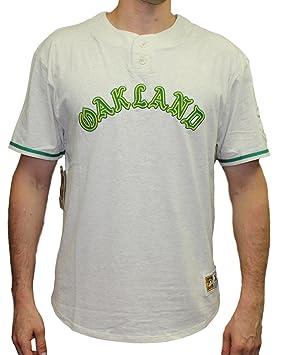 d256d6e463b Oakland Athletics Mitchell   Ness MLB The Victory Short Sleeve ...
