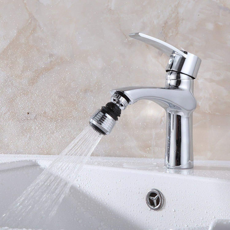 Lieja Nuevo Hogar Cocina Ba/ño /Útil Grifo de Burbujas Ahorro de Derrame de Agua 360 /° Filtro de Salida de Agua Grifos de lavabo