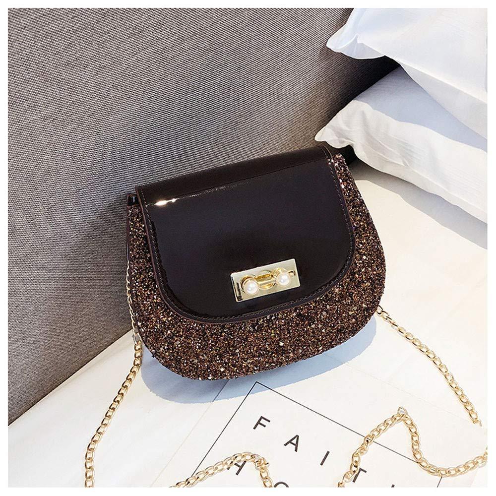 YEZIJIN Clearance!Woman Fashion Panelled Leopard Button Simple Design Shoulder Bag Messenger Bag 2019 New