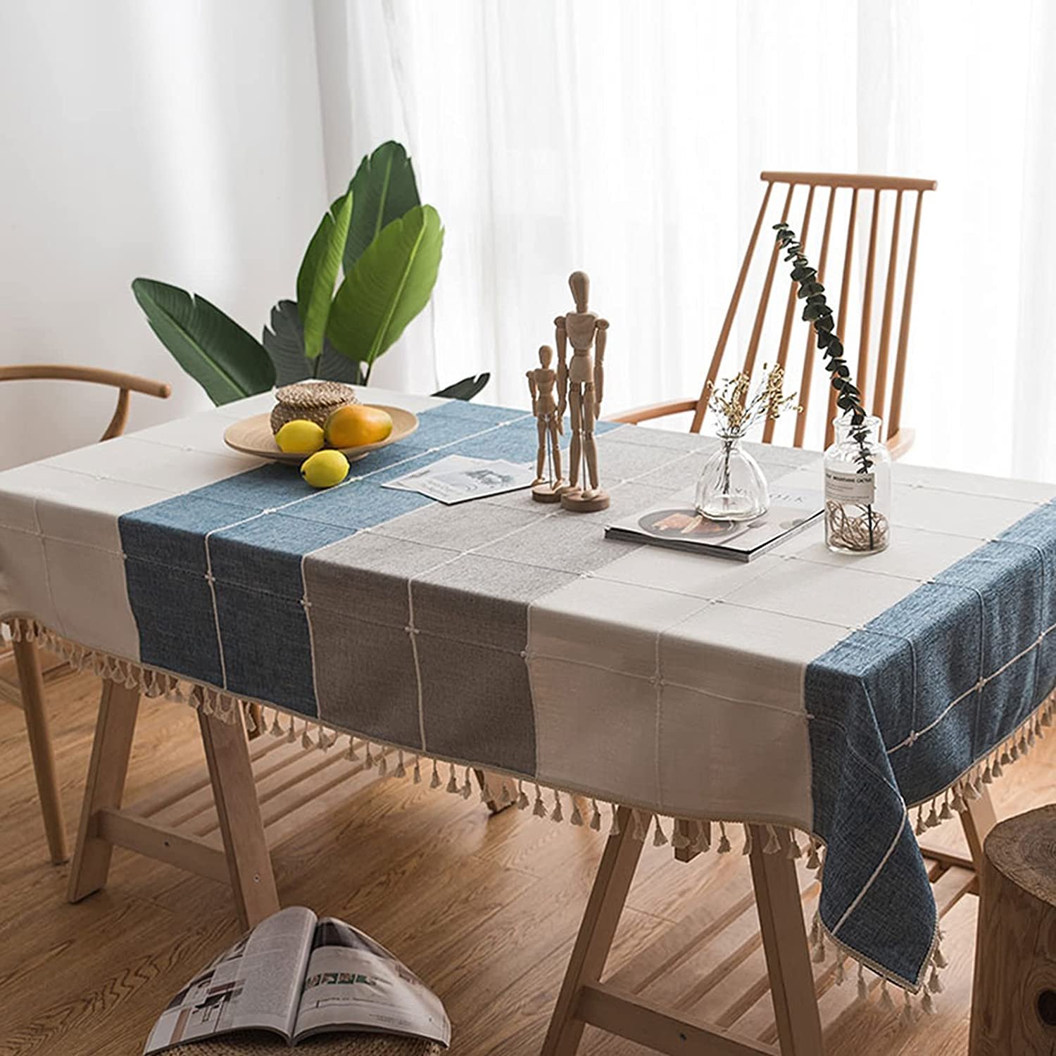 HWanss Tablecloths Oklahoma City Mall Rectangle Washable Table SEAL limited product Cloth Du Heavy Duty
