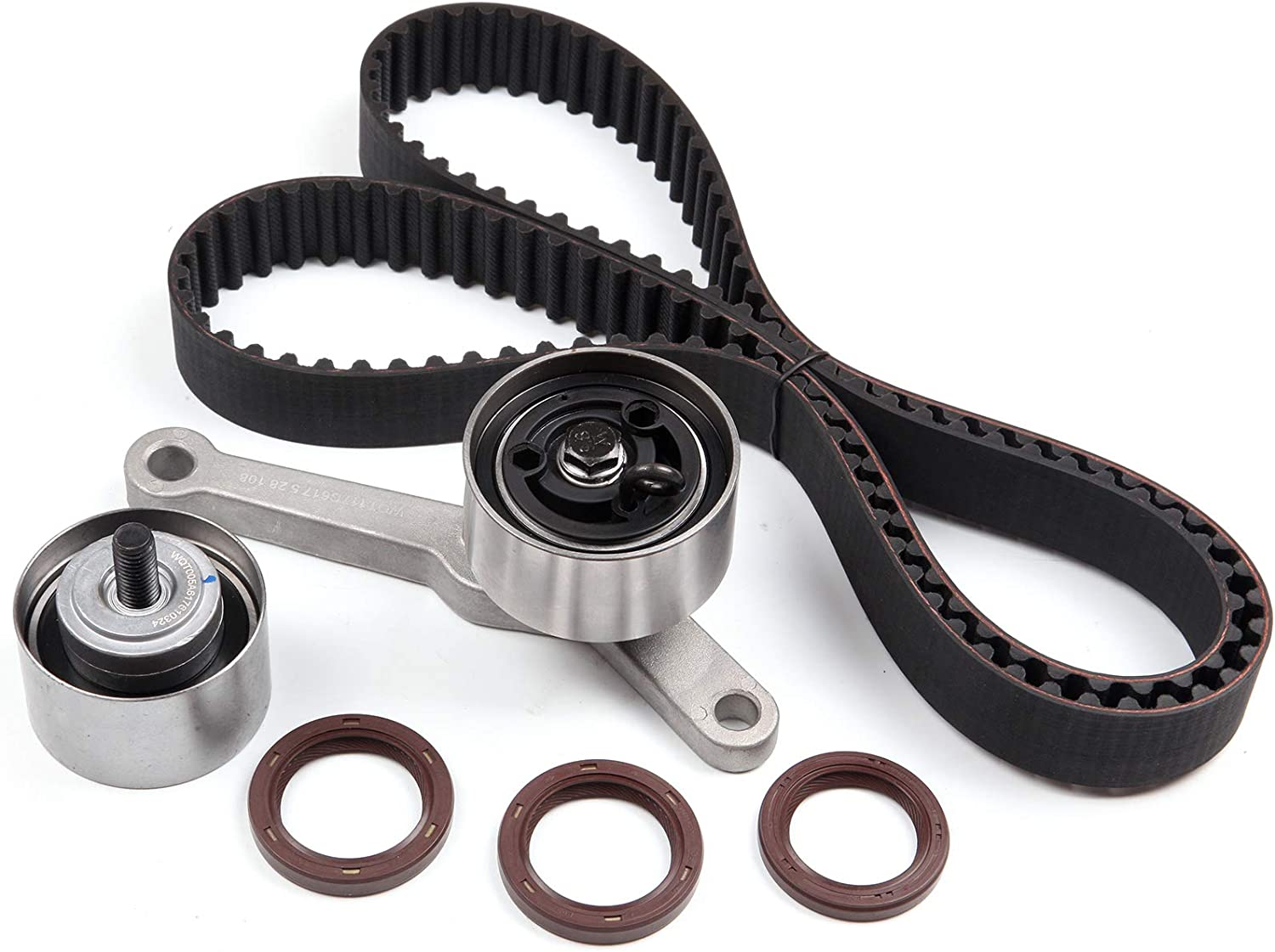TUPARTS Timing Belt Kit Replacement for 2000 Cirrus 1995-2005 Dodge Neon 1995-2000 Dodge Stratus 1996-2000 Plymouth Breeze