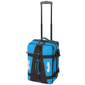 Bogi Bag chariots voyage, sacs de voyage, sacs de sport, sacs de loisirs - 40 litre - turquoise / brun