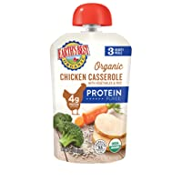Earth's Best Organic Stage 3 Baby Food, Homestyle Chicken Casserole with Vegetables...
