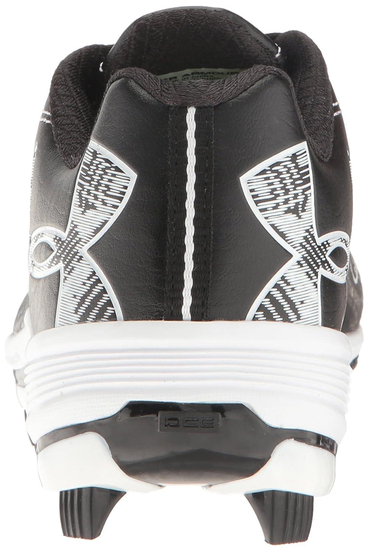 Under Armour Women's Glyde TPU Softball Shoe, Black/Black B01D3RYMXC 6.5 M US Black (001)/Black