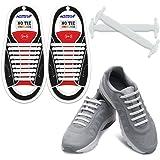 Homar No Tie Lacets pour les enfants et adultes - Best in Sports Fan Lacets imperméables Silicon Flat élastiques Lacets de sport course de chaussures pour Shoes Sneaker Conseil Bottes et Souliers