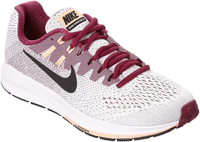Nike Wmns Air Zoom Structure 20, Zapatillas de Running para Mujer, Blanco (White/True Berry/Sunset Glow/Black), 38 EU: Amazon.es: Zapatos y complementos