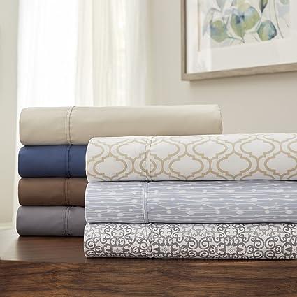 Amazon.com: Serta Perfect Sleeper Smart Comfort Sheet Set with