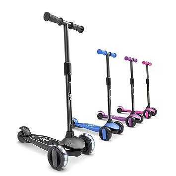 Amazon.com: 6KU Patinete de 3 ruedas para niños y niños ...