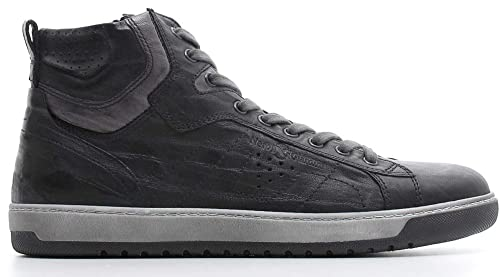pregevole fattura prezzo abbordabile rivenditore di vendita Sneaker Mid NeroGiardini A800490-100 0490 Scarpe Sportive ...