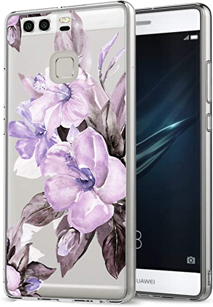 vibtier Funda Compatible with Huawei P9 Lite Cover Cubierta de Parachoques Antideslizante Soft TPU Silicone Case para Huawei P9 Lite Smartphone: Amazon.es: Electrónica