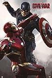 "Marvel Captain America - Civil War Poster ""Iron Man & Captain America"" (61cm x 91,5cm)"