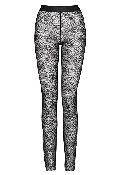 Wolford Lace Leggings - Mujer negro, 38
