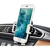 Supporto Auto Smartphone 360 Gradi di Rotazione, iAmotus Universale Supporto Auto Regolabile Porta Cellulare da Auto per iPhone X 8 7 6S 6 Plus, Samsung Galaxy Nota/Edge, Smartphone e Dispositivo GPS