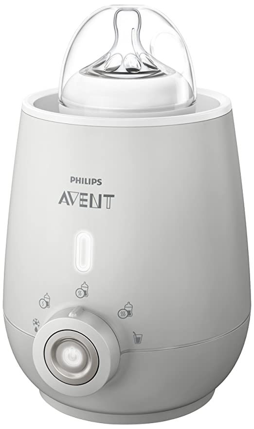 Philips Avent SCF356/00 - Calienta biberón con apagado automático, función de descongelación, calentamiento uniforme del líquido