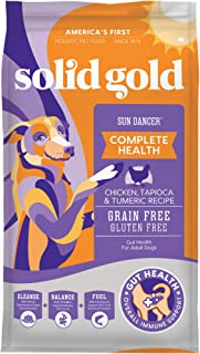 product image for Solid Gold - Sun Dancer - Grain-Free Natural Chicken - High Protein - Holistic Adult Dry Dog Food for All Life Stages - 4 lbs