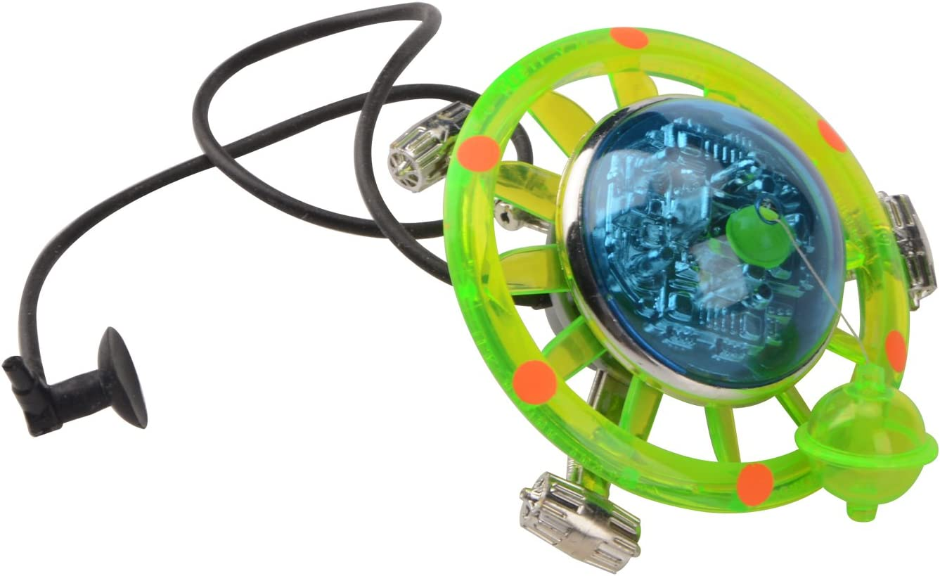 Saim Aquarium Air Action Ornament UFO Fish Tank Decoration