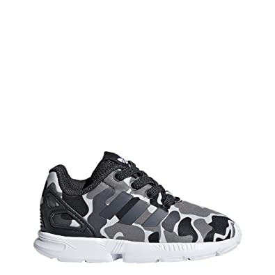 best website dc16d 7c6da Adidas ZX Flux El I, Scarpe da Fitness Unisex-Bambini, Grigio Carbon