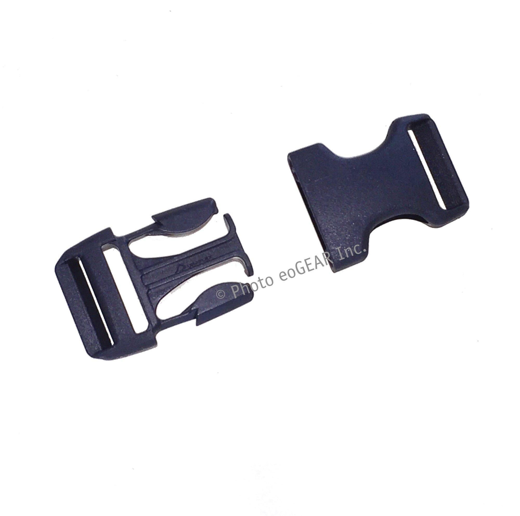 Duraflex Stealth Quick-release Buckle (1'' / 25mm) 10 Pak